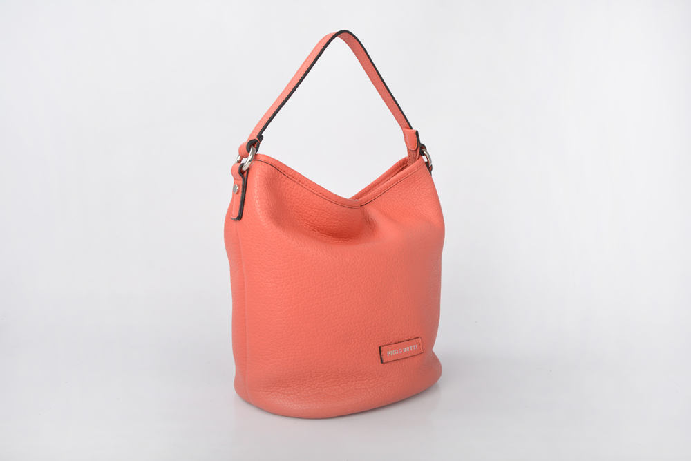 leisure large capacity lady handbag women leather bucket bag