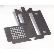 Black Galvanized Powder Coating Sheet Metal Stamping Part