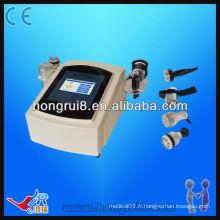 Machine d'élimination de la cellulite à cavitation à vide portable avancée, machine à élimination ultrasonore de graisse