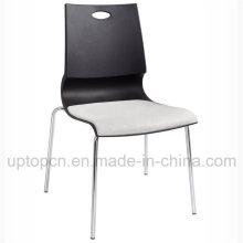 Стол пластиковый стул с хромированной стали и валик (СП-UC430)