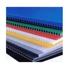 Plastic waterproof polypropylene hollow sheet