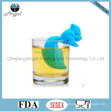 High Quality Squirrel Silicone Tea Bag Filter for Holiday St07