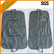 Recycle folding peva garment bag with shoe pocket