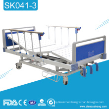 SK041-3 Hospital Manual Medical Bed Manufacturer With Three Functions