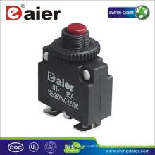 Daier Mini ST-1B Vermelho / Preto Botão 32VDC Com Cabriole Leg Elétrica disjuntor