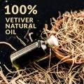 Venta al por mayor 100% Pure Vetiver Oil Bulk