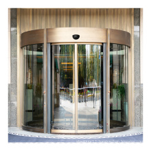 Custom sales commercial curved glass automatic curved sliding door operator