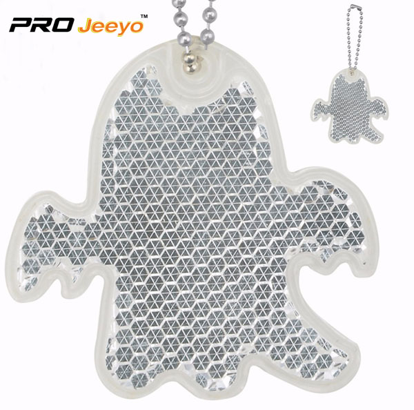 Night Reflective Silver Ghost Acrylic Kids pendant RV-508 1