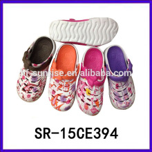 Zapatillas desnudas de la playa de las muchachas zapatillas de lujo de las mujeres del deslizador del nuevo diseño eva