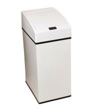 Нержавеющая сталь Белый Aotomatic Sensor Dustbin (YW001)