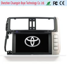Dos DIN Universal Car DVD Player para Toyota Prado 2014