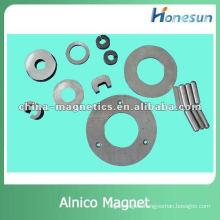 sintered/cast large alnico permanent magnet