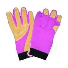 Guante de la mano del guante de la palmada del cerdo, guante del trabajo del cuero del CE