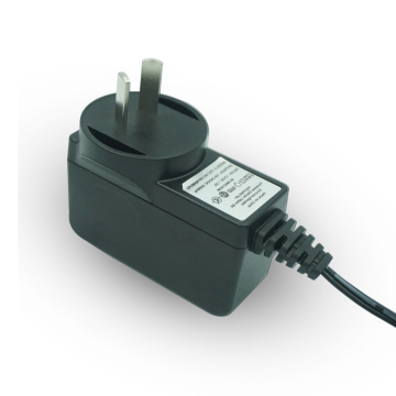 CE ETL 100-240V Input AC DC Power Adapter