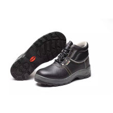 China Factory Industrial Standard Outsole PU/Leather Worker Safety Shoes