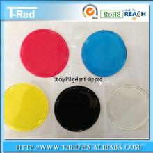 fabricante de almohadillas de gel adhesivo / pu ventosa de gel