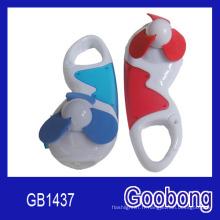 Promotion cadeau Mini ventilateur en plastique à LED miniature miniature (GB1437)