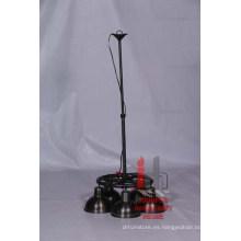 Lámpara colgante de hierro redondo 3
