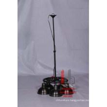 Iron Round 3 Hanging Lamp