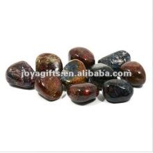 Pedra luminosa elevada do seixo do Gemstone lustrado