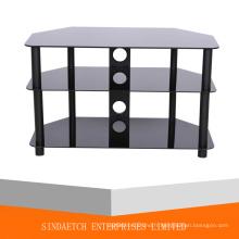 Table d'appoint en verre, table d'angle en verre, table basse en verre, table de finition en verre