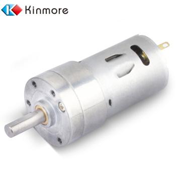 Motor de engranaje de 12 V CC 100 RPM 32 mm de diámetro
