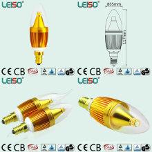 Patente 5W CREE Chip Scob E14 Lâmpada LED Vela (LS-B305-GB)
