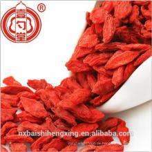 Organische luftgetrocknete rote Goji-Beerenfrucht