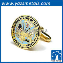 Army cufflinks, customize high quality metal crafts