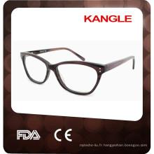 2017 Nouvelle conception de haute qualité acétate optique cadres, lunettes