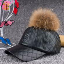 Factory Direct Sale Fashion Custom Plain Snapback Leather Cap