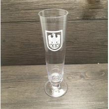 Bouteille en verre à bière à main fabriquée à la main avec grande capacité