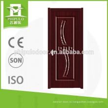 Красивая дверь ПВХ с аксессуарами, сделанные в провинции Чжэцзян