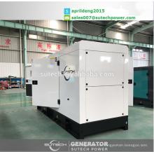 150Kva leise Dieselaggregate, angetrieben von CUMMINS Motor 6BTAA5.9-G2