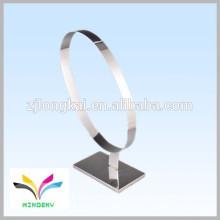 Fábrica de precio directamente barato personalizado único soporte de pantalla de metal para las correas