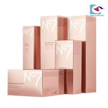 sencai 2018 hot sell custom emboosing skin care cosmetic carton