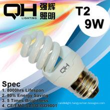 Energy Saving Lamp/CFL Lamp 9W 2700K/6500K E27/B22