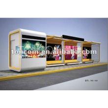 Abri d'autobus pour la publicité