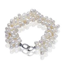 Браслет перлы стерлингового серебра 925 на продажу