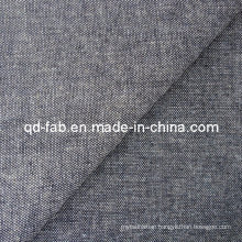 Good Quality Cotton/Poly/Linen/Spandex Denim Fabric (QF13-0732)