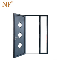 Bullet proof patio security screen door