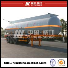 Caminhão de tanque 42500L do aço carbono Q345chemical (HZZ9405GHY) com elevado desempenho para compradores
