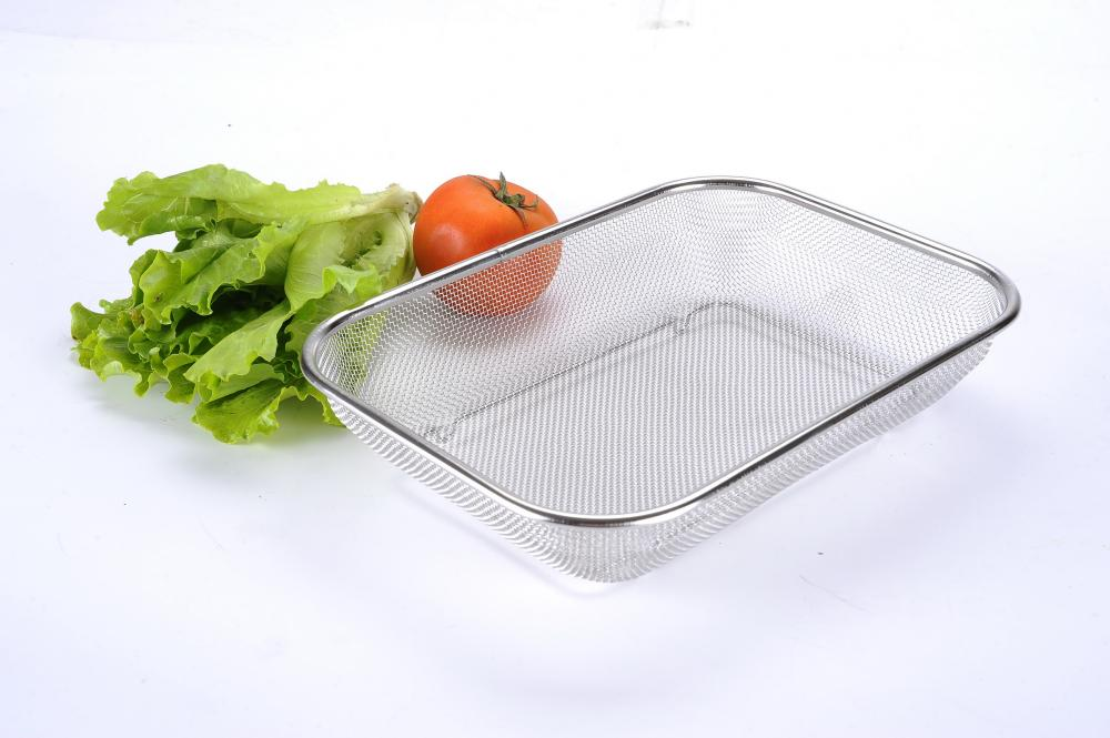 Stainless Steel Rectangle Strainer Colander