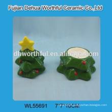 Christmas tree ceramic salt & pepper shaker