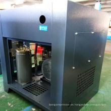 Compresor de aire de tornillo tipo compresor de aire silencioso 30HP 22KW