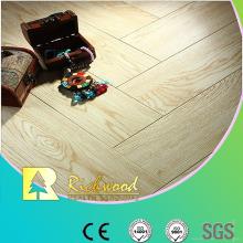 Hogar E0 12.3mm Eir roble encerado piso laminado filo