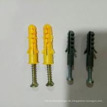 Nylonrahmen-Befestigungsanker mit Zinkschraube