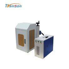 Mini máquina de marcado de fibra cerrada de 20W con tapa