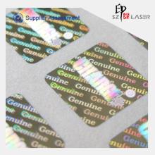 Benutzerdefinierte Hologramm Druckerpapier mit hoher Qualität