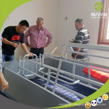 Durable Pig Farm Equipment Galvanized poultry farm design for pigs